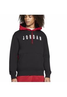 Sudadera Hombre Nike Jordan Jumpman Air Negro/Rojo CW8434-010 | scorer.es