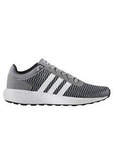 Zapatillas Adidas Cloudfoam Race Gris/Blanco