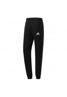 Pantalón largo Adidas Core Negro/Blanco