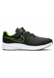Zapatillas Niño/a Nike Star Runner Negro/Verde AT1801-004 | scorer.es