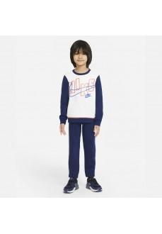 Chandal Infantil Nike Set Azul/Blanco 86H470-U9J | scorer.es