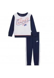 Chandal Infantil Nike Set Blanco/Azul 66H470-U9J | scorer.es