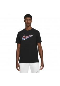 Nike Men´s T-Shirt Swoosh Black DD0767-010 | Men's T-Shirts | scorer.es