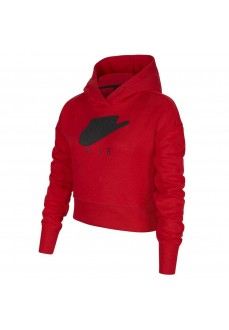 Nike Kid´s Sweatshirt Air Sportswear Red DA1173-657 | Kids' Sweatshirts | scorer.es