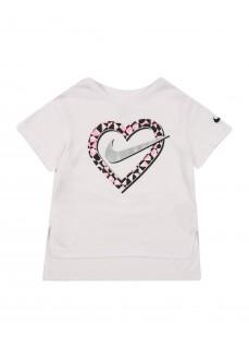 Camiseta Infantil Nike Knit Top Blanco 36G919-001 | scorer.es