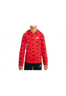 Nike Men´s sweatshirt Sportswear Script Red DB3257-657 | Kids' Sweatshirts | scorer.es