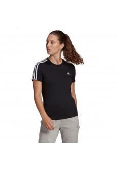 Camiseta Mujer Adidas Essentials 3S Negro GL0784 | scorer.es