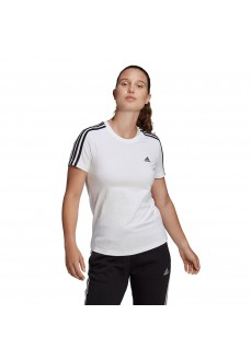 Camiseta Mujer Adidas Essentials 3S Blanco GL0783 | scorer.es