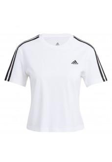 Camiseta Mujer Adidas Essentials 3S Blanco GL0778 | scorer.es