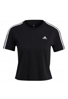 Adidas Women's T-Shirt Essentials 3S Black GL0777 | Women's T-Shirts | scorer.es