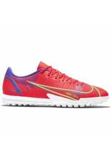 Zapatillas Hombre Nike Mercurial Vapor 14 TF Rojo CV0978-600 | scorer.es