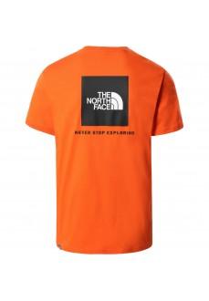 Camiseta Hombre The North Face Easy Naranja NF0A2TX2V3Q1 | scorer.es