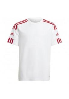 Adidas Kid´s T-Shirt Squadra 21 White GN5741 | Football clothing | scorer.es