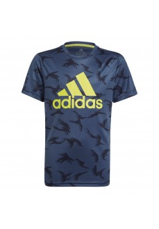 Adidas Kid´s T-Shirt Designed To Move blue GN1487 | Kids' T-Shirts | scorer.es
