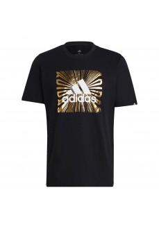 Adidas Men´s T-Shirt Extrusion Motion Foil Black GL2393 | Men's T-Shirts | scorer.es