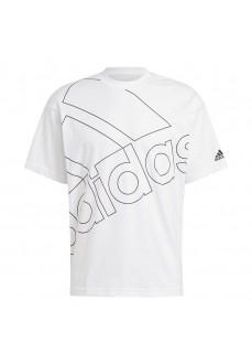 Adidas Men´s T-Shirt Giant Logo White GK9424 | Men's T-Shirts | scorer.es