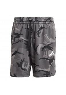 Adidas Short Pants Essentials Camo Grey GK9623 | Trousers for Men | scorer.es