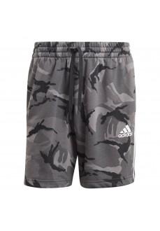 Pantalón Corto Hombre Adidas Essentials Camo Gris GK9623 | scorer.es