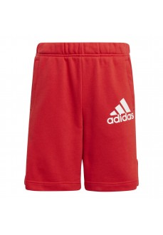 Adidas Kid´s Short Pants Bagde Of Sport Red GJ6621 | Trousers for Kids | scorer.es
