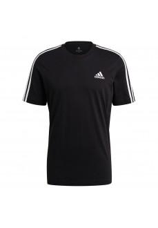 Adidas Men´s T-Shirt 3 Stripes Performance Black GL3732 | Men's T-Shirts | scorer.es