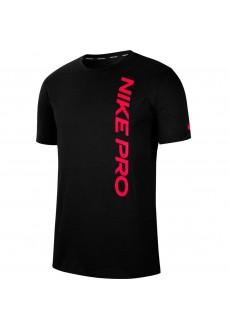 Nike Men's T-Shirt Pro Black CU4975-011   Men's T-Shirts   scorer.es