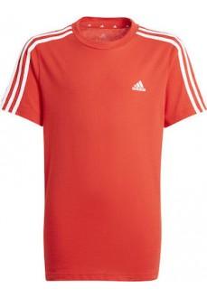 Camiseta Niño/a Adidas Essentials 3 Stripes Rojo GN3997 | scorer.es