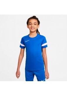 Nike Men's T-Shirt Dri-Fit Academy Blue CW6103-480 | Football clothing | scorer.es