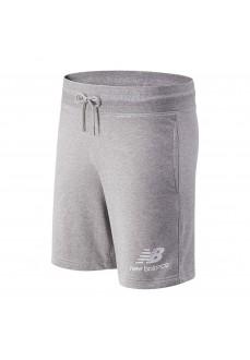 New Balance Men´s Short Pants Essentials Grey MS03558 ATHL | Trousers for Men | scorer.es
