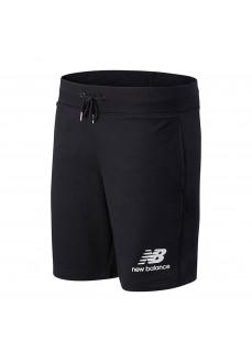 New Balance Short Pants Essentials Logo Black MS03558 BK | Trousers for Men | scorer.es