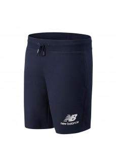 New Balance Men´s Short Pants Essentials Logo Navy MS03558 ECL | Trousers for Men | scorer.es