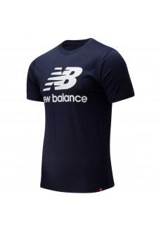 New Balance Men´s T-Shirt Essentials Stacked Navy MT01575 ECL | Men's T-Shirts | scorer.es
