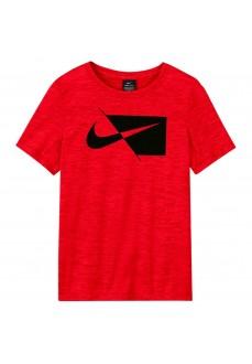 Camiseta Niño/a Nike Dry Hbr Rojo DA0282-657   scorer.es