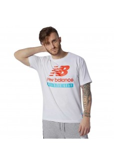 Camiseta Hombre New Balance Essentials MT1157 WHT | scorer.es