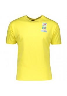 Camiseta Hombre New Balance Graphic Heathertech Amarillo MT11516 FTL | scorer.es