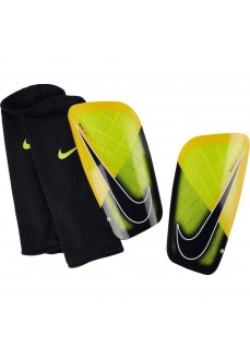 Nike Mercurial Lite Yellow/Black Shin Guards