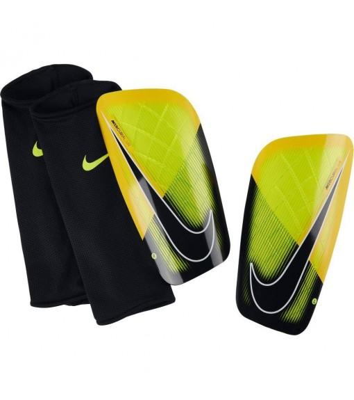 Espinilleras Nike Mercurial Lite Amarillo/Negro | scorer.es