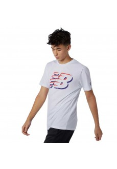 Camiseta Hombre New Balance Graphic Blanco MT11071 WHT | scorer.es