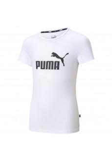 Camiseta Niño/a Puma Ess Logo Tee Blanco 587029-02   scorer.es