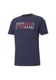Puma Men´s T-Shirt Athetics Tee Big Navy 585756-06 | Men's T-Shirts | scorer.es