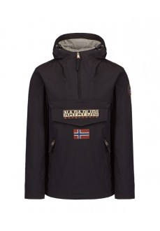 Napapijri Men´s Coat Rainforest S Black NP0A4FDM0411 | Coats for Men | scorer.es