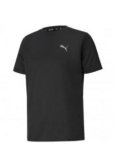 Camiseta Hombre Puma Run Favorite SS Tee Negro 520208-01 | scorer.es