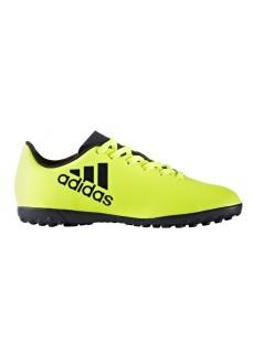 Zapatillas de fútbol Adidas X 17.4 Amarillo Fluorescente