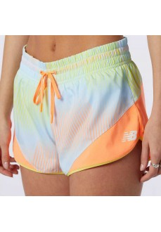 New Balance Woman´s Short Pants Printed Fast WS11247-CPU | Trousers for Women | scorer.es