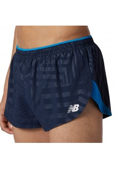 New Balance Men´s Short Pants Printed Fast Navy MS11247-ECL | Running Trousers/Tights | scorer.es