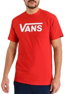Vans Men´s T-Shirt Classic Tee Red VN000GGGDS81 | Men's T-Shirts | scorer.es