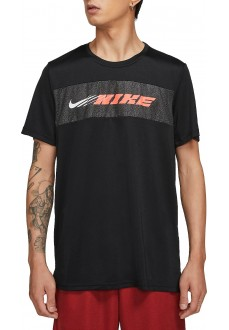 Nike Men´s T-Shirt Dri-Fit Superset Sport Clash black CZ1496-010 | Running shoes | scorer.es
