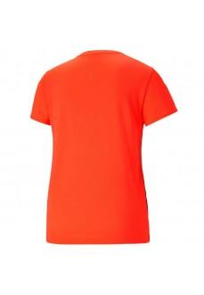 Camiseta Mujer Puma Run Favorite SS Tee Naranja 520181-84 | scorer.es