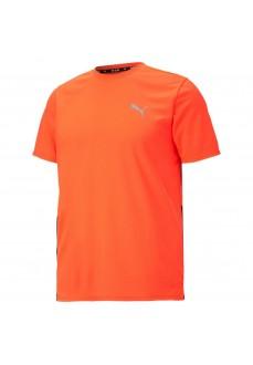 Camiseta Hombre Puma Run Favorite SS Tee Naranja 520508-84 | scorer.es