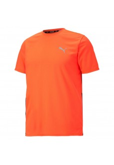Puma Men´s T-Shirt Run Favorite SS Tee Orange 520508-84 | Running T-Shirts | scorer.es