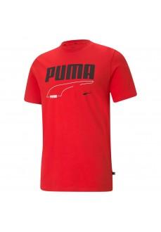 Puma Men´s T-Shirt Rebel Tee Red 585738-11 | Men's T-Shirts | scorer.es